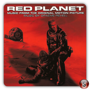 Pianeta rosso Soundtracks Cover CD