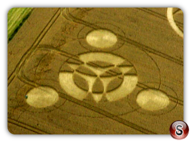 Crop circles - Broadbury Banks Wiltshire 2000