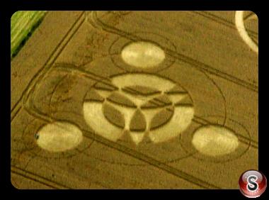 Crop circles - Broadbury Banks Wiltshire 2000