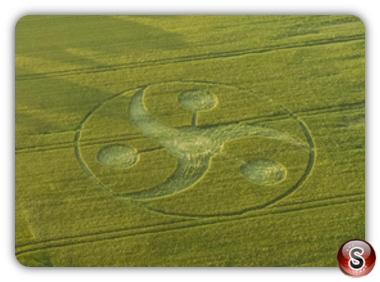 Crop circles Keysley Down - Wiltshire 2018