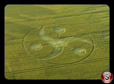 Crop circles - Keysley Down Wiltshire 2018