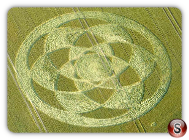 Crop circles - Fonthill Down, Nr Chicklade - Wiltshire 2011