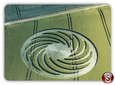 Crop circles Frienisberg - Bern 2018