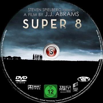 Super 8 Cover DVD