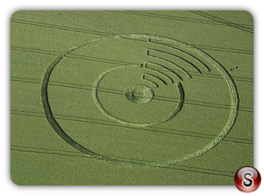 Crop circles - Cowdon, Hampshire 1995