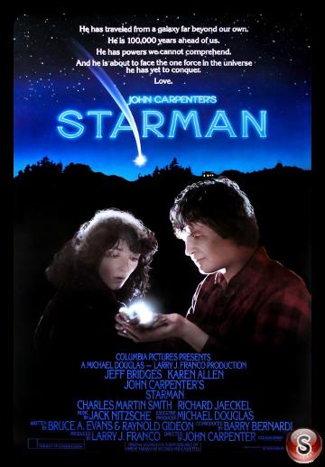 Starman - Locandina - Poster