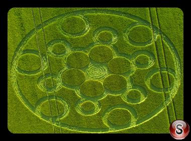 Crop circles Ashway - Oxfordshire 2017