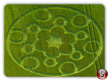 Crop circles - Ashway Oxfordshire 2017