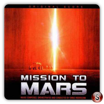 Mission to Mars Soundtrack Cover CD