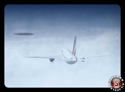 Volo Air France n. 3532 del 1994 e incontro con UFO di 250 metri di diametro - ricostruzione