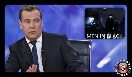 Dmitrij Medvedev : gli alieni sono tra noi