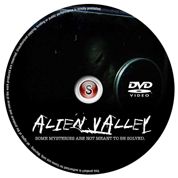 Alien valley Cover DVD