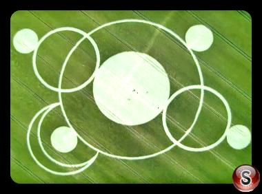 Crop circles Crézancy-en-Sancerre - Cher 2017