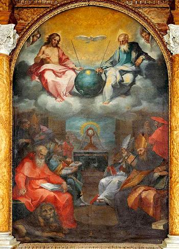 Bonaventura Salimbeni (1567-1613)  Eucarestia