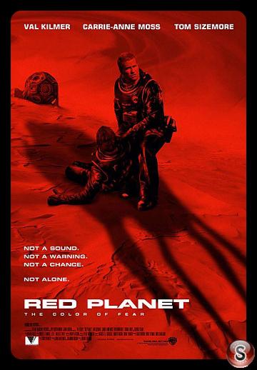 Pianeta rosso - Locandina - Poster