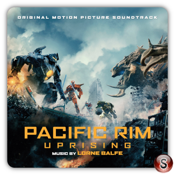 Pacific Rim Uprising Cover CD