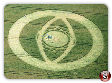 Crop circles - East Field, Alton Barnes, Wiltshire 1994