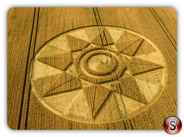Crop circles West Kennett - Wiltshire 2016