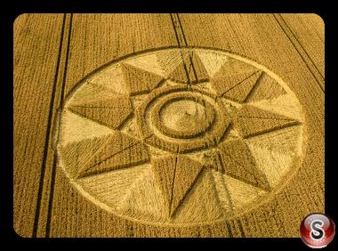 Crop circles - West Kennett Wiltshire 2016