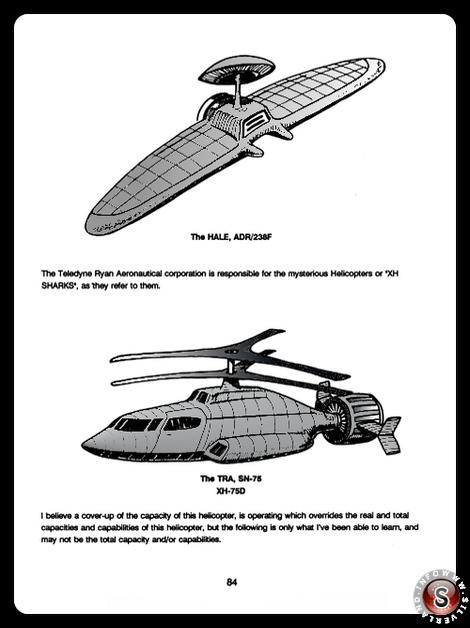 The HALE, ADR 238F - The TRA, SN-75 / XH-75D - Blue Planet Project - Rielaborazione grafica Silverland