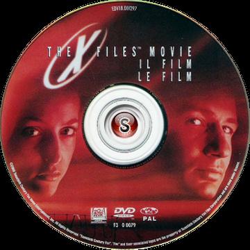 X files Il film Cover DVD