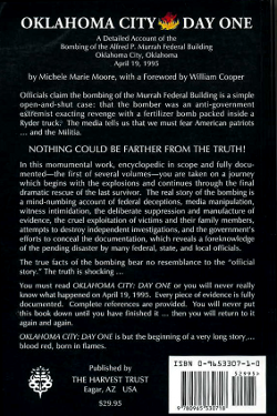 Oklahoma City: Day One: A Detailed Account of the Bombing of the Alfred P. Murrah Federal Building Oklahoma City, Oklahoma April 19, 1995 by Michele Marie Moore