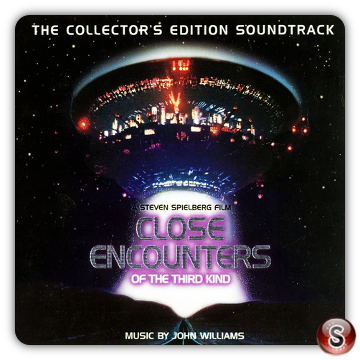 Encounters of the third kind Soundtrack Cover CD