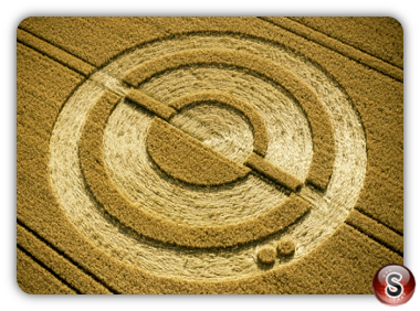 Crop circles - West Meon, Hampshire 2001