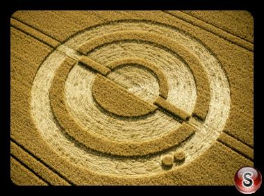 Crop circles - West Meon Hampshire 2001