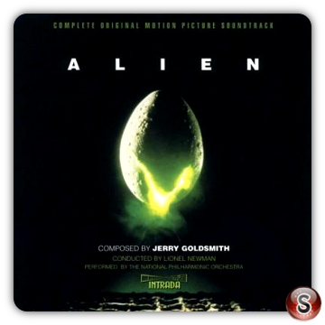Alien Soundtrack Cover CD