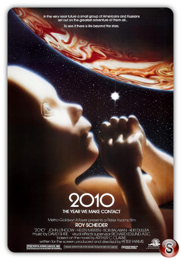 2010 L'anno del contatto - Locandina - Poster