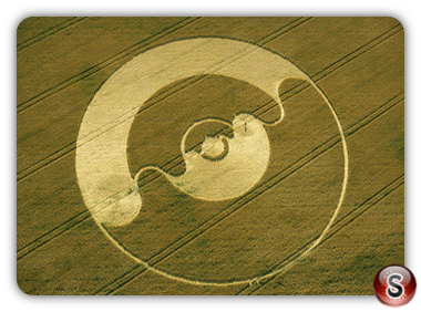 Crop circles - Windmill Hill, Wiltshire 2001