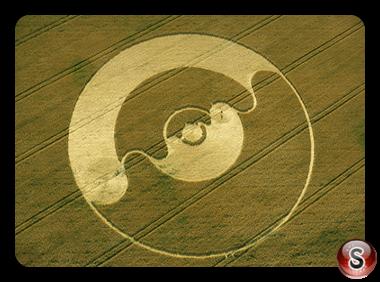 Crop circles - Windmill Hill Wiltshire 2001