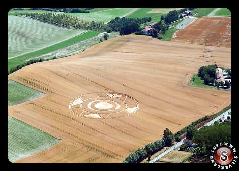 Cerchio nel grano a Robella