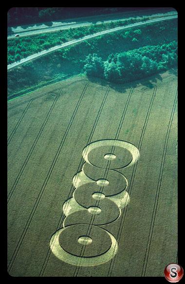 Crop circles - Barton le Clay Bedfordshire 1996