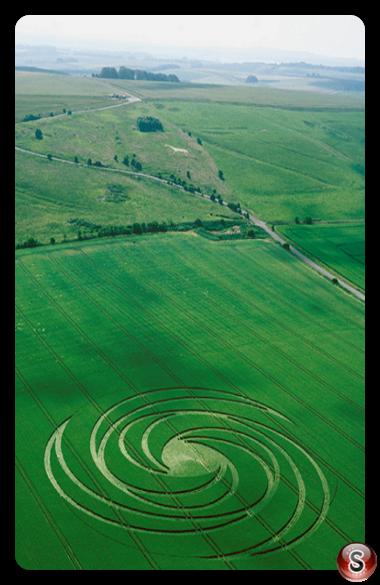 Crop circles - Hackpen Hill Wiltshire 1999