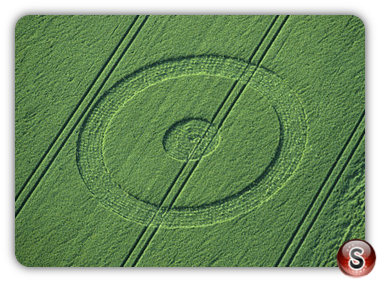 Crop circles - Chiseldon, Wiltshire 1998