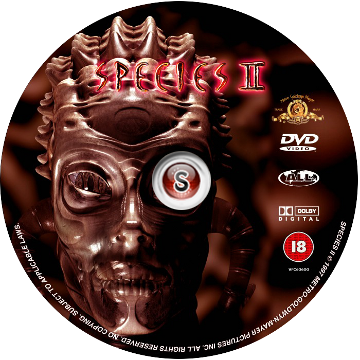 Species 2 Cover DVD