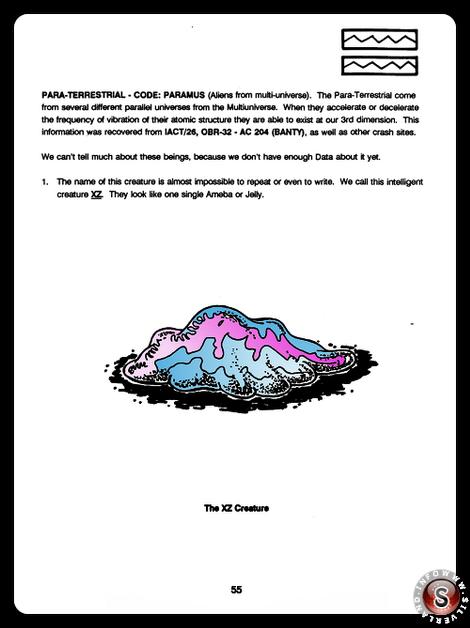 The XZ creature ( false colour ) - Blue Planet Project - Rielaborazione grafica Silverland