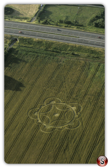 Crop circles - Fareham, Hampshire 1998
