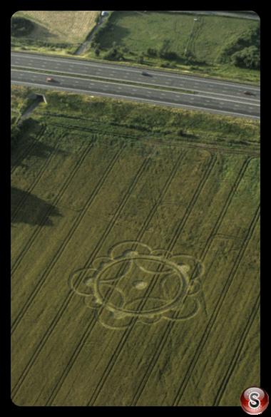 Crop circles - Fareham Hampshire 1998