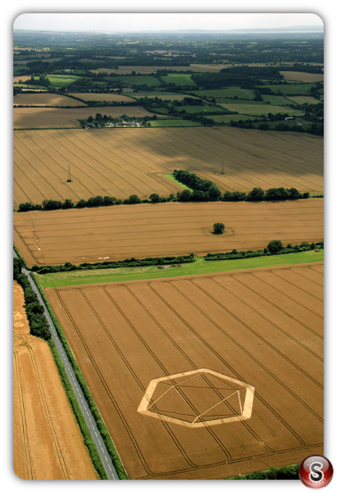 Crop circles - Owslebury nr Winchester, Hampshire 2012