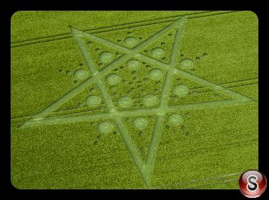 Crop circles - Broad Hinton Wiltshire 2017
