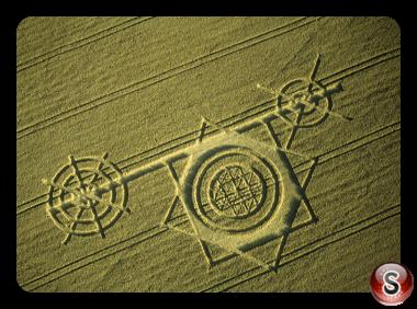 Crop circles -  Calne Wiltshire 2000