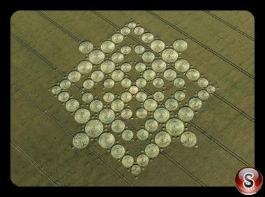 Crop circles - Wayland's Smithy, Oxon 2008