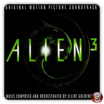 Alien 3 Soundtrack Cover CD