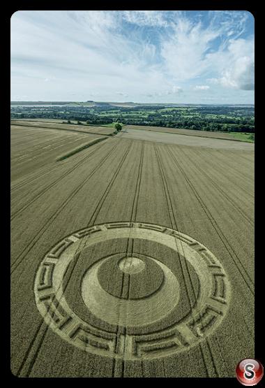 Crop circles - Etchilhampton Wiltshire 2019