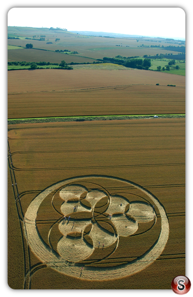 Crop circles - Windmill Hill Wiltshire 2006