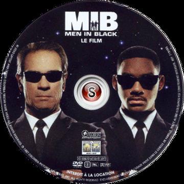 Men in black Cover DVD