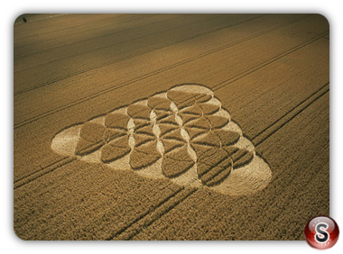 Crop circles - Broad Hinton, Wiltshire 2003